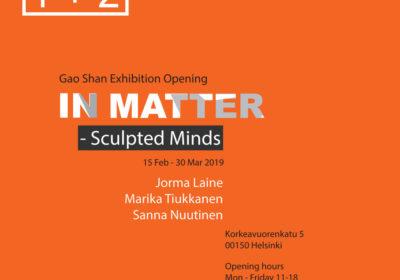 Jorma Laineen, Sanna Nuutisen ja Marika Tiukkasen korutaidetta Gao Shan-galleriassa Helsingissä