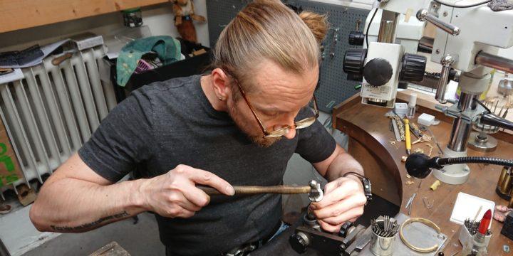 Petri Eklöf on Vuoden kultaseppä 2020