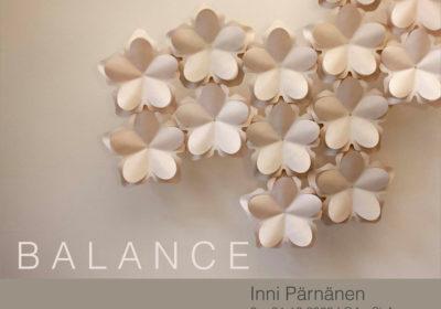 Balance – Inni Pärnäsen näyttely galleria GAo ShAnissa Helsingissä 2.-31.12.